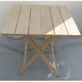 Dřevěný stůl skládací DT22 velký (lípa)