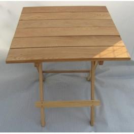 Skládací stůl velký (dub)